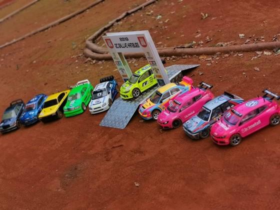 Kleine Rallye Autos
